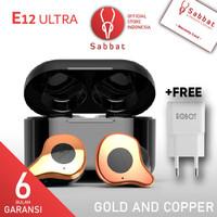 Sabbat E12 ULTRA Golden Bronze Qualcomm APTX TWS Bluetooth Headset 5.0