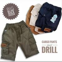 Celana Cargo Pendek Anak Premium Usia 9 - 13 Tahun