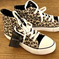COTTON ON Shoes Sepatu Sneakers Leopard Ankle Original