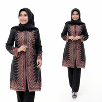 baju batik wanita, tunik batik, baju kantor 035