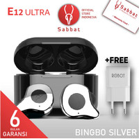 Sabbat E12 ULTRA Bingbo Silver Qualcomm APTX TWS Bluetooth Headset 5.0