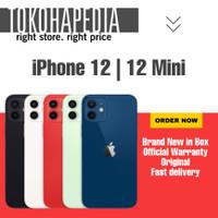 [DUAL SIM] iPhone 12   Mini 64GB / 64 RED, BLACK, WHITE, BLUE , GREEN - 12 MINI INTER