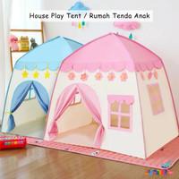 Tenda Anak House Play Tent Mainan Tenda Anak Camping Tenda Lipat RS66