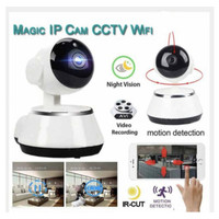 Magic IP Cam CCTV Wifi / KAMERA PENGINTAI CC TV / MAKE SAFETY HOUSE