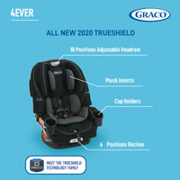 Graco Carseat 4ever 4in1 featuring TrueShield Technology-1992117