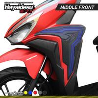 Hayaidesu New Vario Body Protector Middle Front Cover - Biru