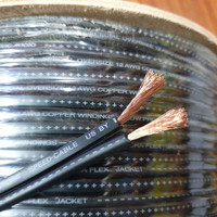 kabel speaker Esoteric 12 AWG permeter..Rp 30.000