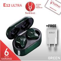 Sabbat E12 Ultra Aurora Green Glitter Cosmos Series TWS 5.0 APTX