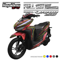 Hayaidesu New VARIO Body Protector Full Set Cover - Kuning