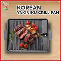 BBQ Grill Pan / Oil Free Korean Yakiniku Grill Pan/ Korean Grill Pan