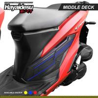 Hayaidesu New Vario Body Protector Middle Deck Cover - Biru