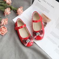 bm NATASYA SHOES flat shoes sepatu anak perempuan IMPORT - Merah Muda