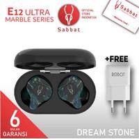 Sabbat E12 Ultra Dream Stone Marble TWS Headset 5.0 Qualcomm Aptx