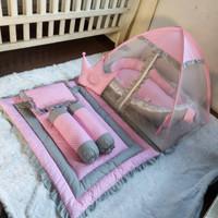 Paket baby nest set lengkap-matras tidur bayi-tempat tidur bayi