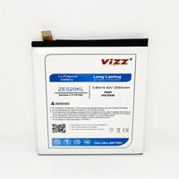 Baterai Batre Vizz Asus Zenfone 3 5,2 / ZE520KL / C11P1601 / Z017D Ori