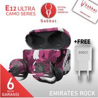 Sabbat E12 ULTRA Camouflage Emirates Rock Qualcomm APTX Bluetooth 5.0