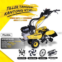 Cultivator Firman FTL 650 A Mini   Tractor Bajak Lahan Kering