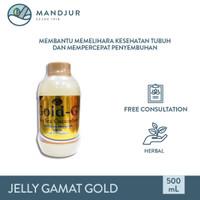 Jelly Gamat Gold G Sea Cucumber 500 mL - Ekstrak Teripang Laut Asli