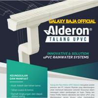Talang alderon upvc R830 / Talang baja ringan alderon ( inculde 1 set)