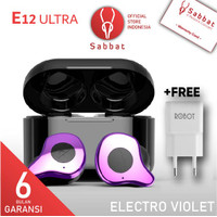 Sabbat E12 ULTRA Electro Violet Qualcomm APTX TWS Bluetooth Headset