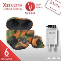 SABBAT X12 Ultra Camouflage AptX Qualcomm Bluetooth 5.0 TWS Headset
