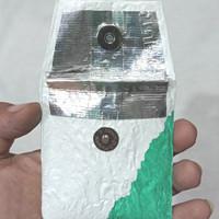 Pocket Ashtray. Asbak saku. upcycle life style