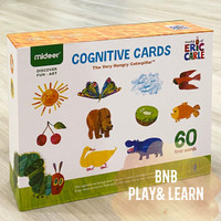 Mideer Flash Card Eric Carle- Cognitive Cards