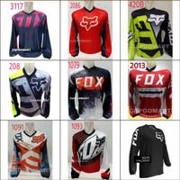 Baju JERSEY Kaos Pakaian Olahraga Balap Sepeda Trail Motorsport Bola