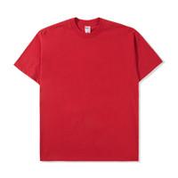 Kaos Polos 16s Real Heavy Goods Red - Kaos Polos Merah Katun