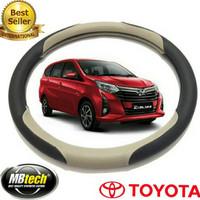 sarung stir mobil calya sigra MB Tech-Cover Ster stir setir Mobil