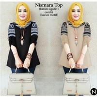 Nismara Top,Fashion baju wanita muslim, Atasan wanita termurah terbaru