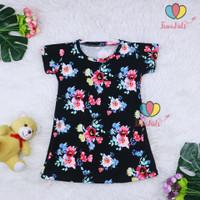Dress Larissa uk Bayi - 5 Tahun / Lengan Pendek Baju Anak Perempuan