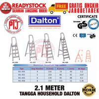 Tangga Alumunium Lipat 8 Step Dalton ML-408 2.1 Meter Tangga Lipat