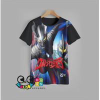 kaos anak ULTRAMAN baju anak SUPER HERO v3 - 3-4 tahun