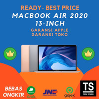 (IBOX RESMI) Macbook Air 2020 512GB 256GB Gold Silver Grey Gray Ori