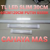 LAMPU TL SLIM LED 120CM 60CM 30CM / 40 WATT 20 WATT 10 WATT OUTBOW
