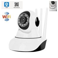 baby cam smart v380 ipcam cctv 3 antena wireless support app mode