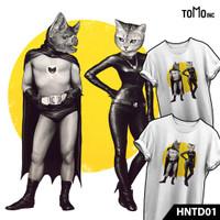 Haunted Series - A BAT AND A CAT | Kaos Distro | Halloween - S