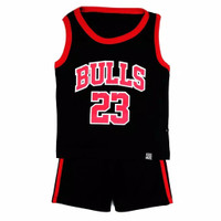 setelan baju anak laki laki bayi lekbong/baju basket anak