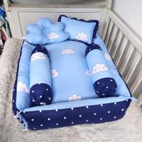 Babynest set bayi-paket bedding bayi-baby set murah-kasur bayi tenteng