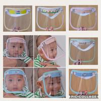 face shield masker wajah baby newborn/ faceshield baby new born