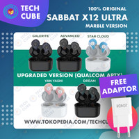 Sabbat X12 ULTRA Marble Qualcomm APTX Earphone Bluetooth 5.0 Alt E12