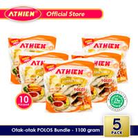 Athien - BUNDLE Otak-Otak Polos - Isi 5 pack / 1100 gram