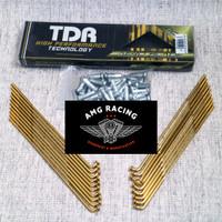 Jari Jari TDR Aero Blade Series Gold / Emas Motor