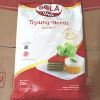 Tepung beras bola deli 500gr terbaru