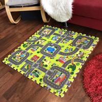 Karpet / Matras / Playmat Bayi Puzzle Motif / Matras Lantai Anak Baby
