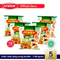 Athien - BUNDLE Otak-Otak Pingpong - Isi 5 pack / 1100 gram