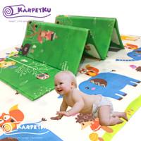 Karpet / Matras / PlayMat Lipat JUMBO & Tebal PE untuk Bayi Merangkak