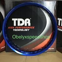 Velg TDR WX Shape 17 x 160 warna Blue/ Biru