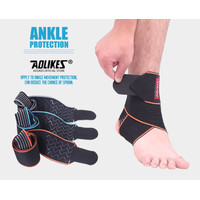 Sport Ankle Foot Ankle Support Elastic Brace Guard Football Basketball